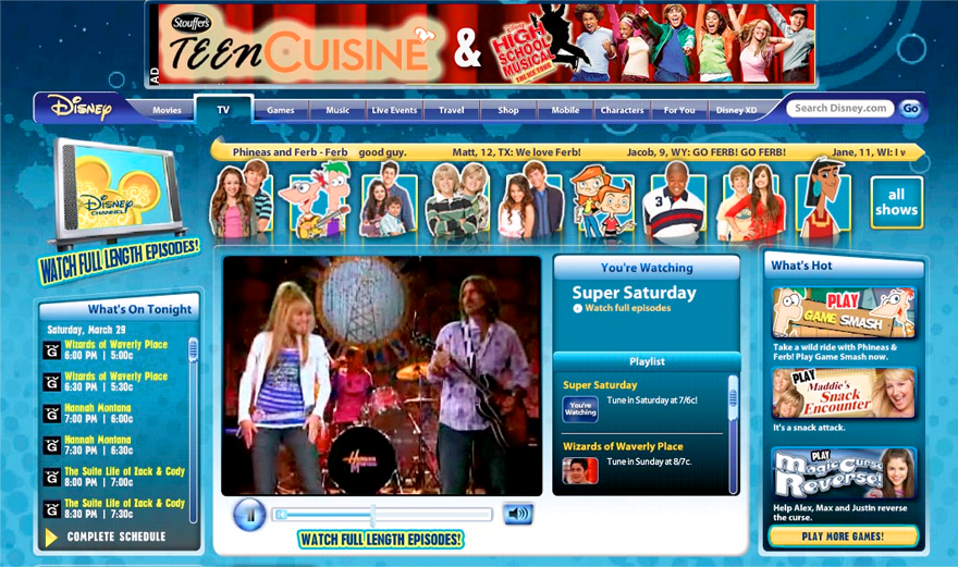 Disney channel flash site chris ellerby Go to the website