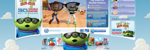Disney.com Toy Story 2 Takeover